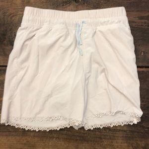 Ivivva Girls Size 12 Tan Shorts
